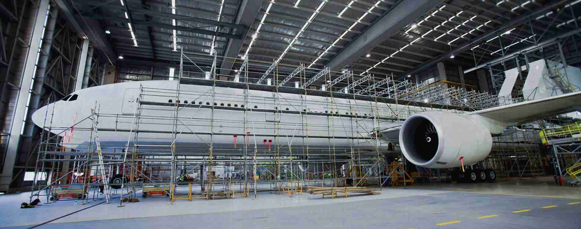 Aircraft Scaffolding for Maintenance