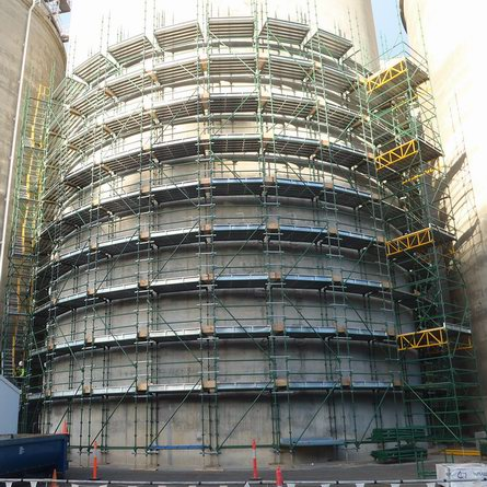 Kwikstage Scaffolding for Industrial Project