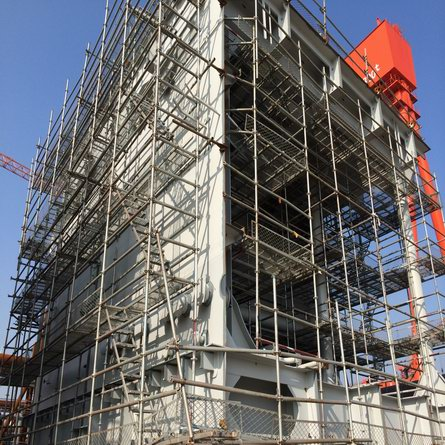 Shipyard Scaffolding Project