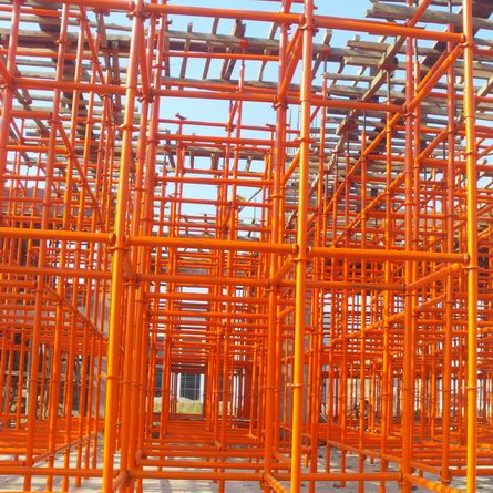 Cross Lock Scaffolding for Factory Building Construction
